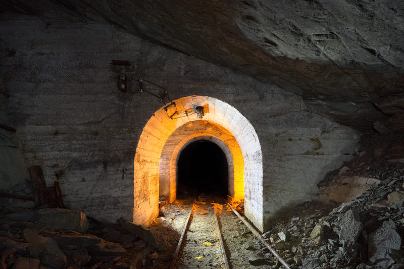 Les tunnels de consolidation.
