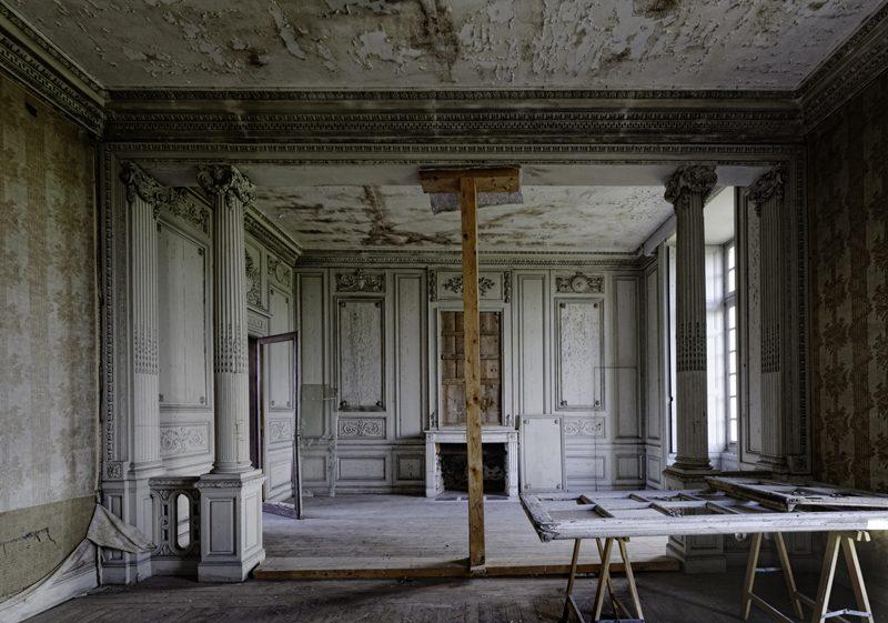 Salle en Travaux